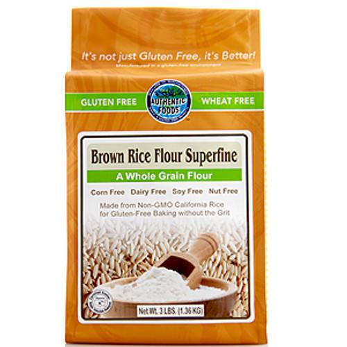 Authentic Foods Superfine Brown Rice Flour