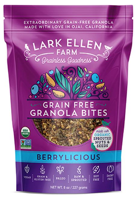 Lark Ellen Vegan Berrylicious Grain Free Granola Bites