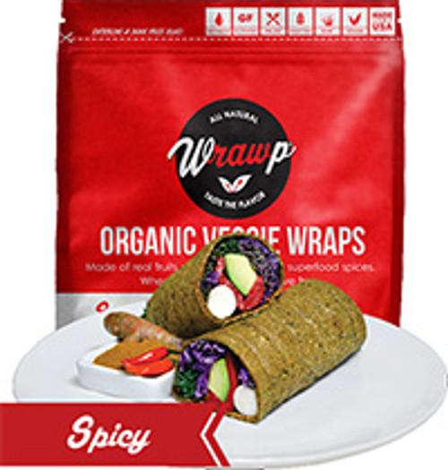 Wrawp Spicy Flat Bread Wraps