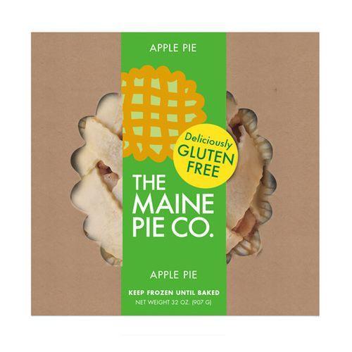 The Maine Pie Co. Gluten Free Apple Pie, 8 inch (FROZEN)