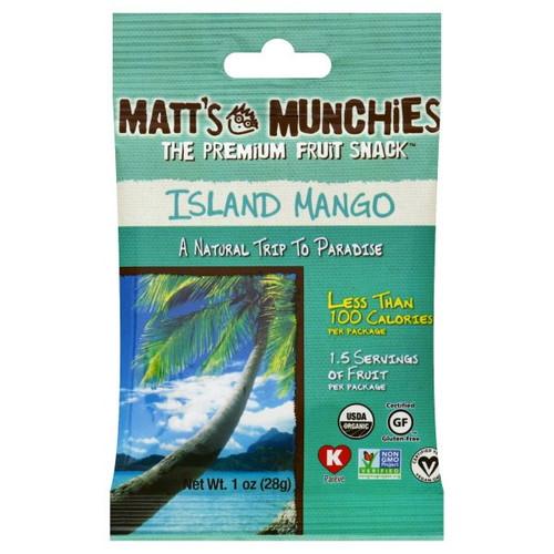 Matt's Munchies Island Mango Fruit Leather