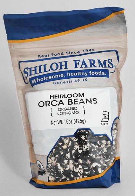 Shiloh Farms Orca Beans, Heirloom