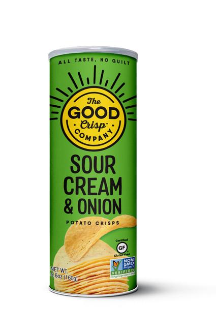 The Good Crisp Company Sour Cream & Onion Flavor Potato Crisps