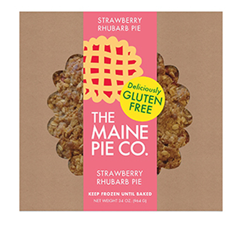 The Maine Pie Co. Gluten-Free Strawberry Rhubarb Pie, 8 inch (FROZEN)