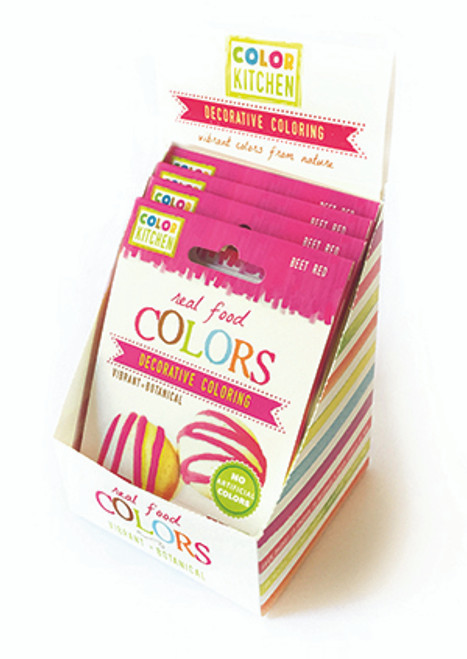 Color Kitchen Gluten-Free Pink (Beet Red) Real Food Coloring