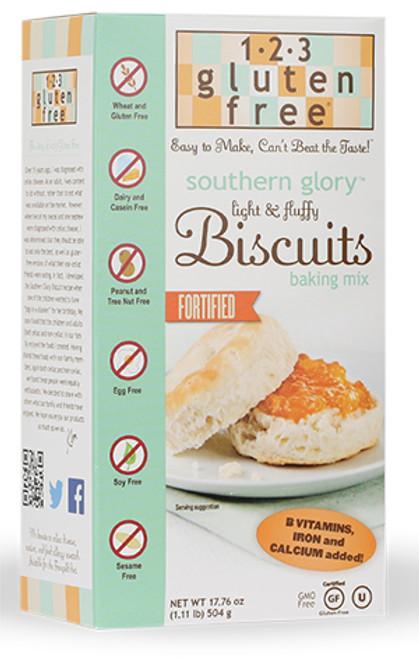 1-2-3 Gluten Free Biscuit Mix, Gluten-Free