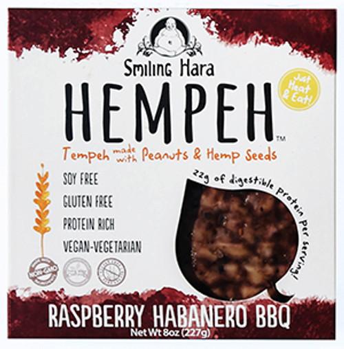 Smiling Hara Raspberry Habanero Hempeh BBQ