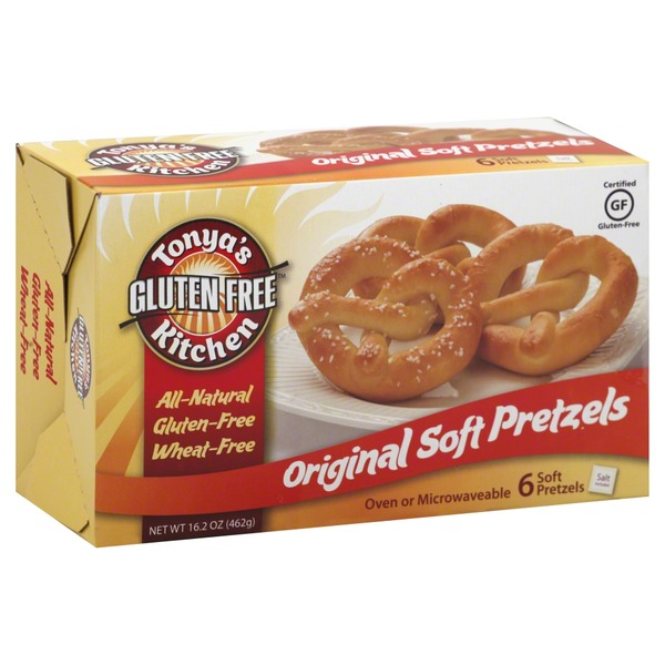 Tonya S Gluten Free Original Soft Pretzels Gluten Free Mall