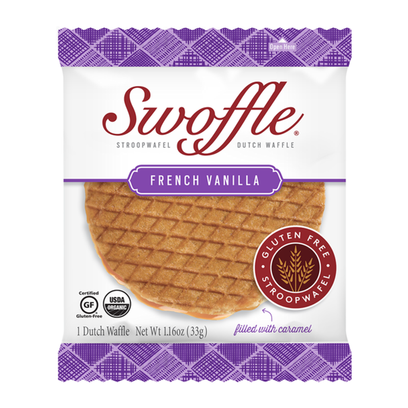 Swoffle French Vanilla Gluten Free Dutch Waffles