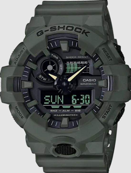 Casio G-Shock Olive Green GA700UC-3A