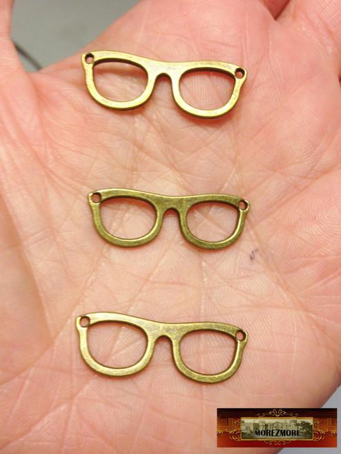 M01344 MOREZMORE 1 Frame Tortoise Shell Eyeglasses Miniature Puppet Doll Glasses