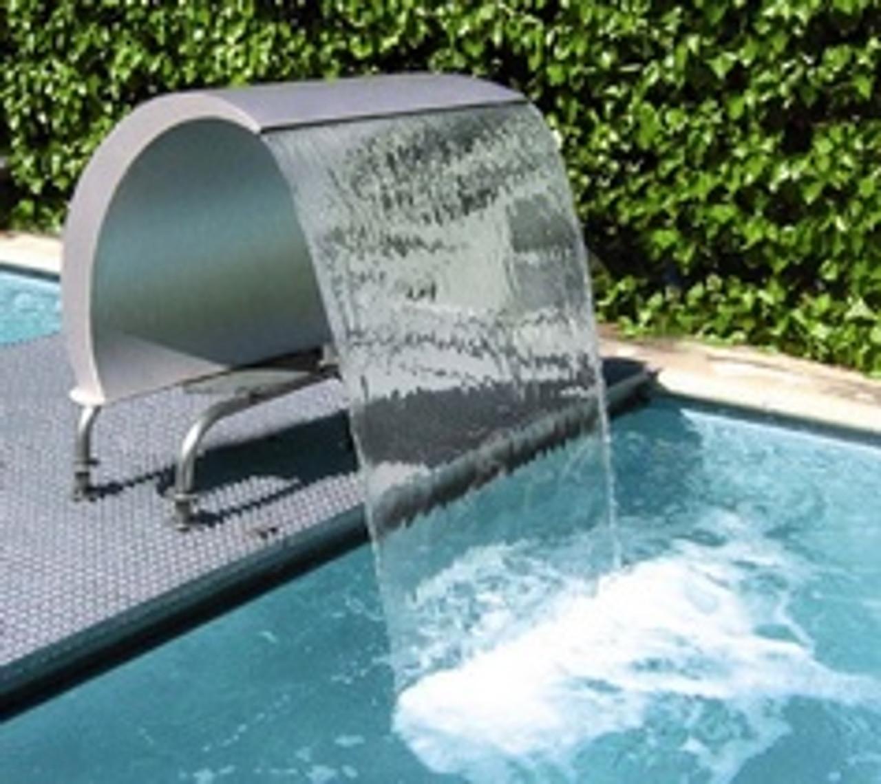 Ornamental Swan Curtain 1000 Swimming Pool Water Fountain (34390)
