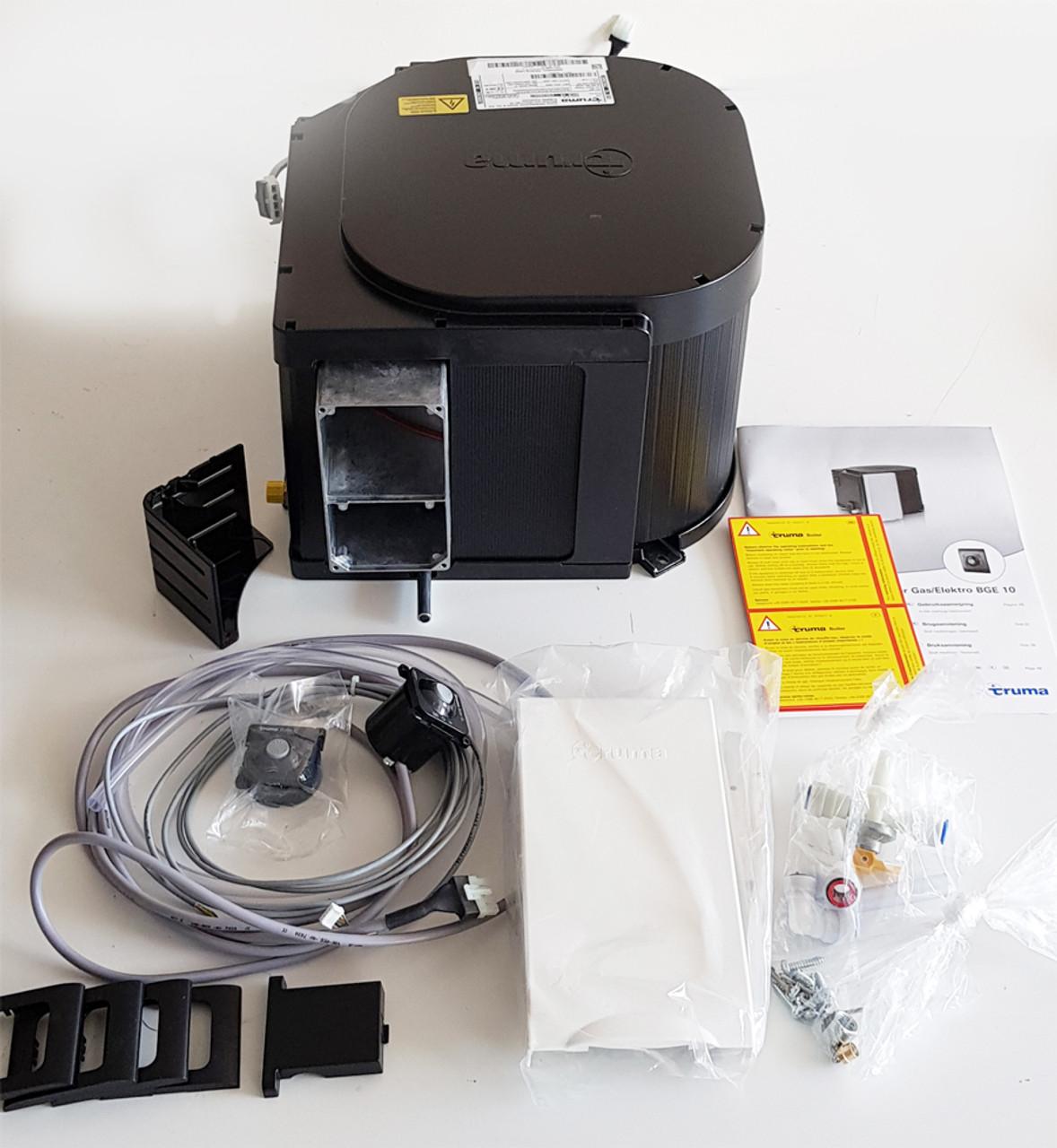 Truma Ultrastore caravan water heater what's in the box