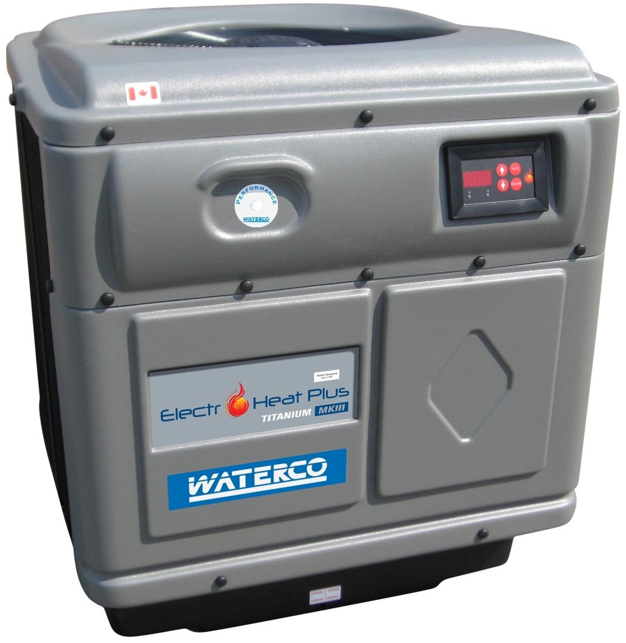 Waterco Electro Heat Plus Swimming Pool Heat Pump