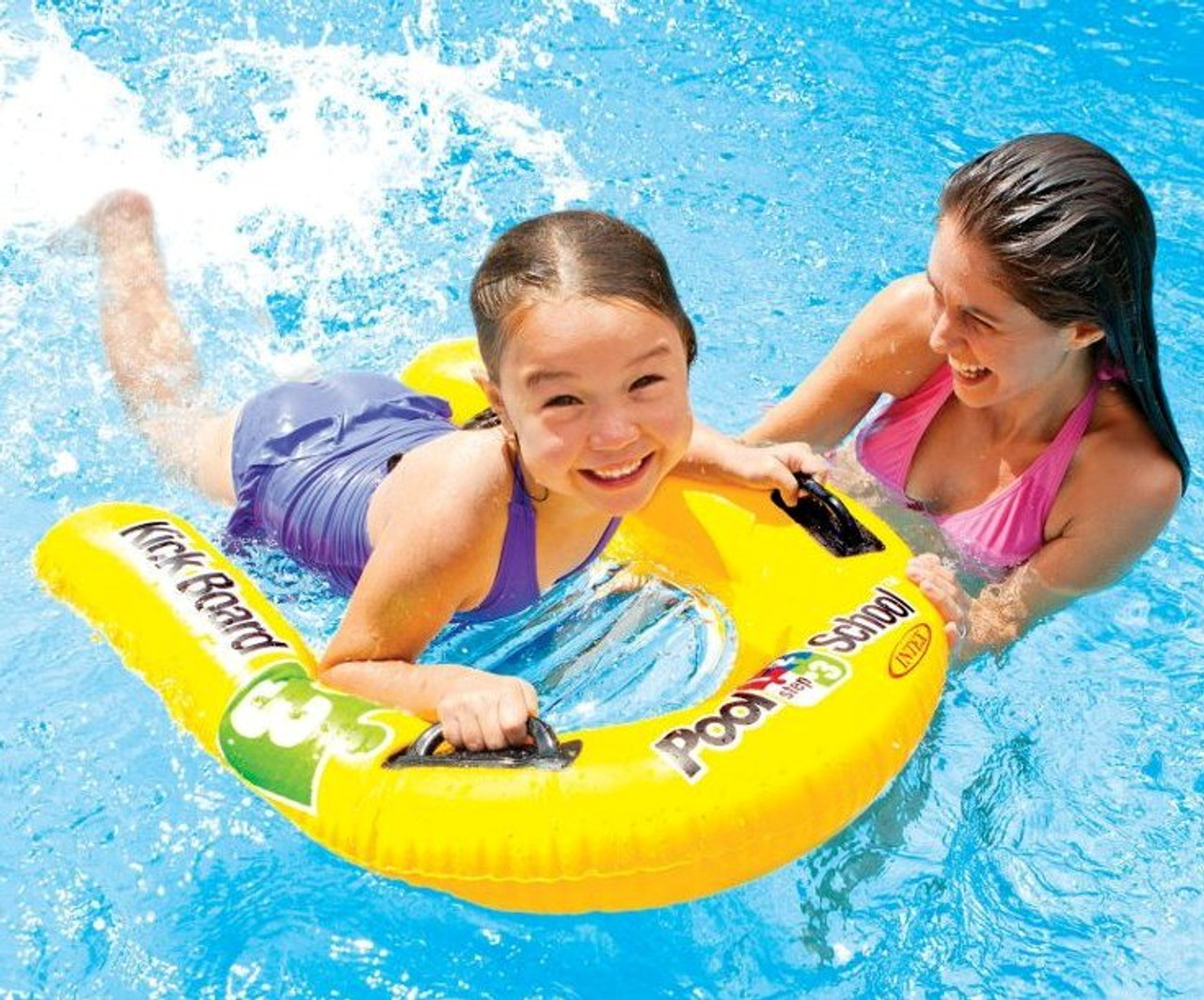 Intex Kids Inflatable Pool School Childrens Learner Swimming Kickboard 58167np