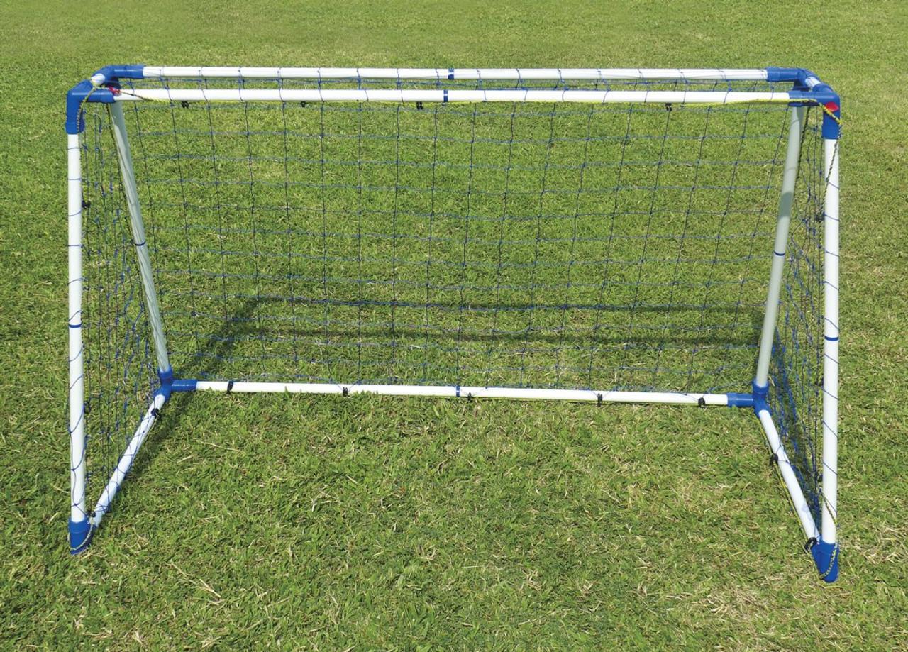 6 foot steel A-frame football goal set