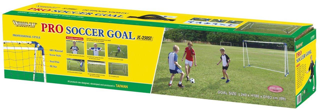 8 Ft Pro steel A Frame goal handy carry box