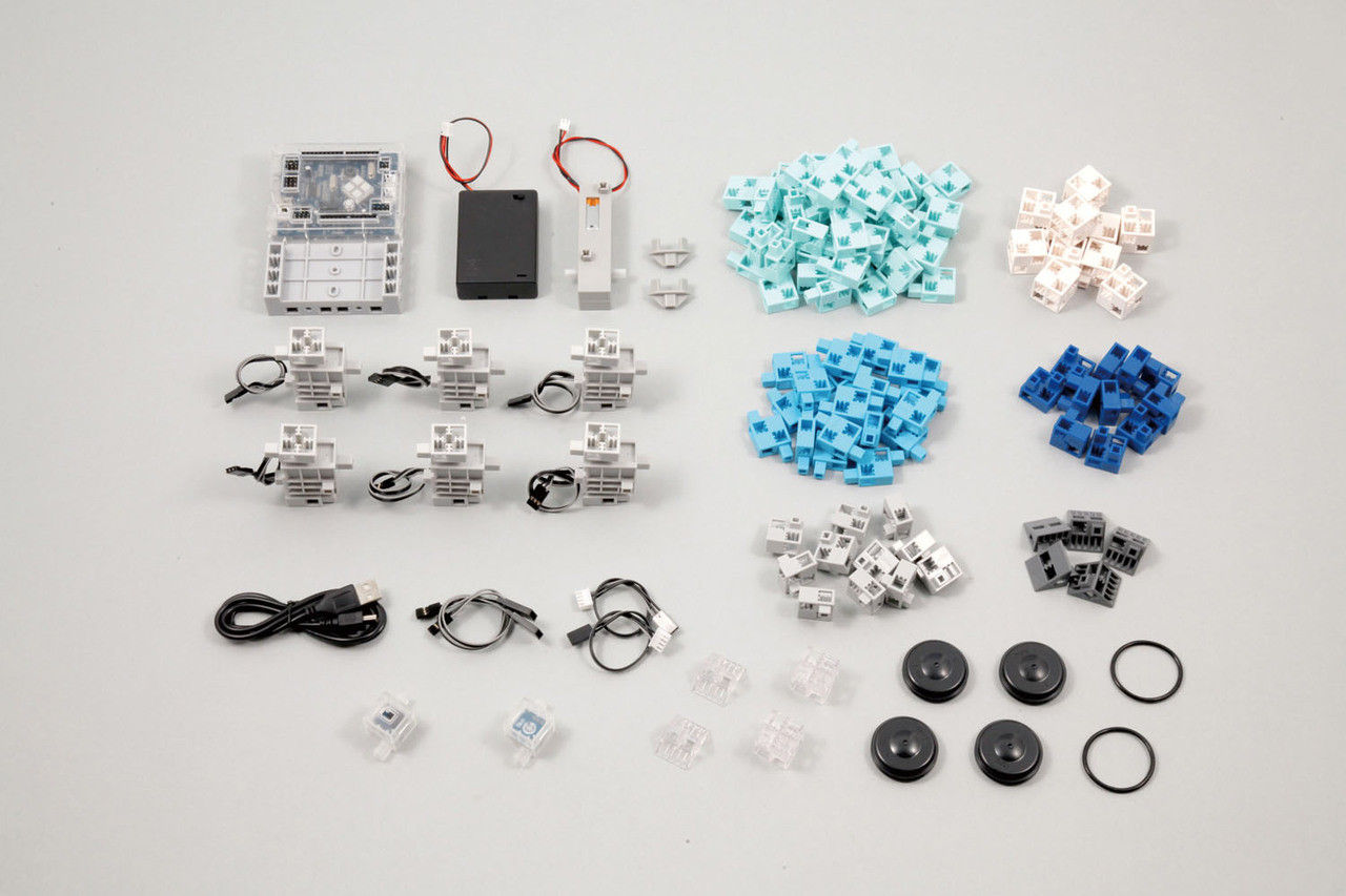 Artec Blocks Robotist Educational Transforming Robot Car Toy Building Kit