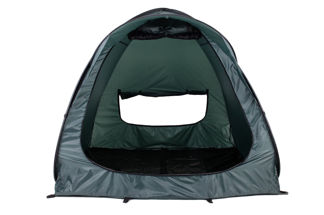 Quick up fishing tent