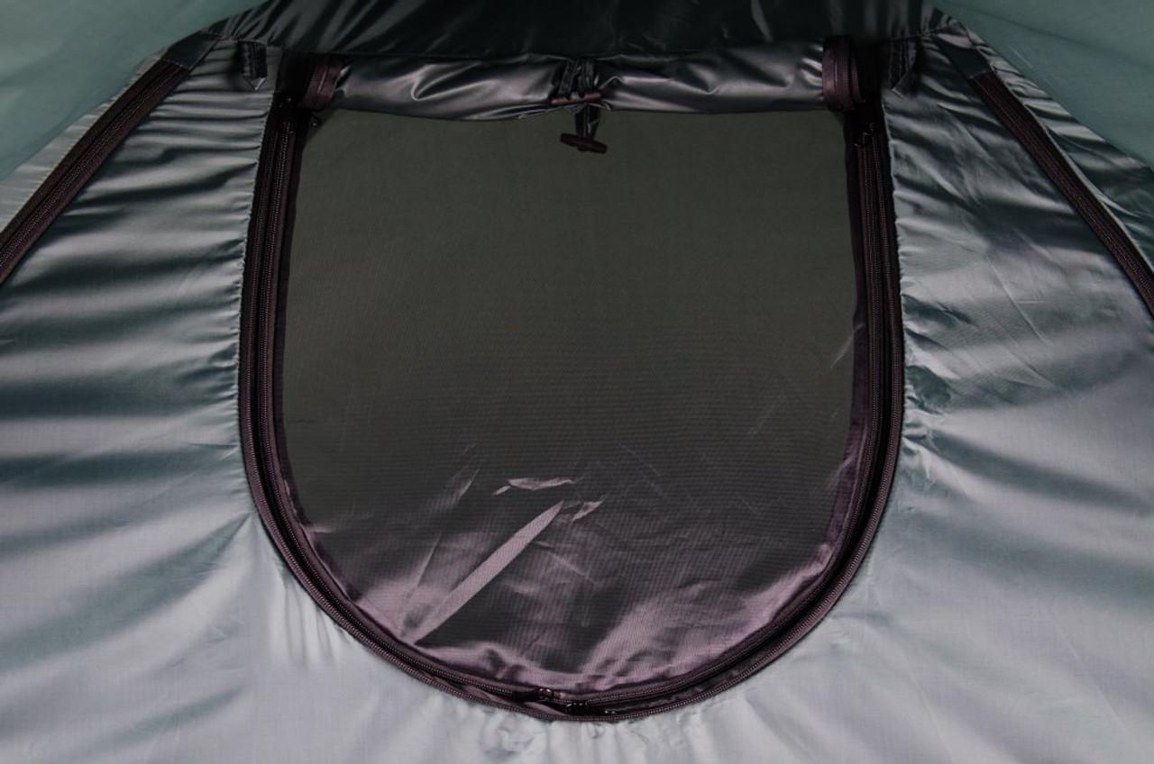 Fast erect fishing tent mini window rolled up