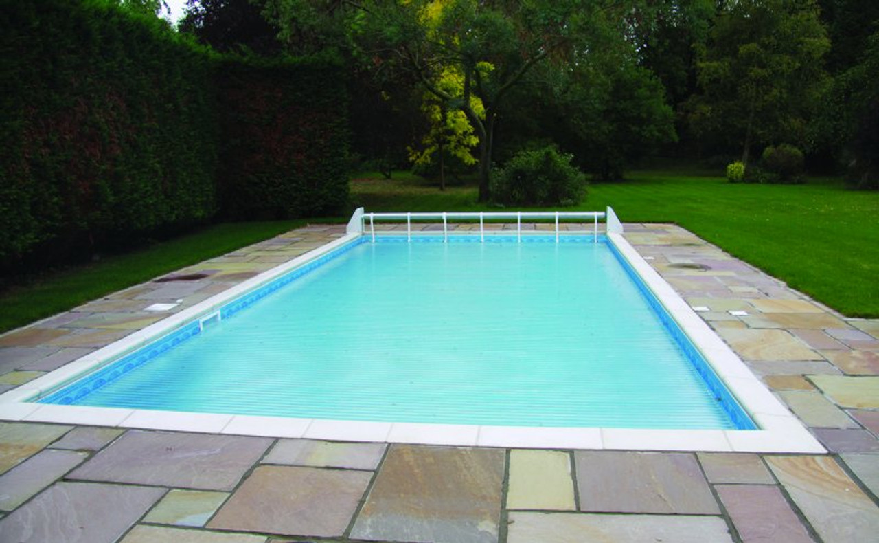 Slatted Swimming Pool Automatic Cover