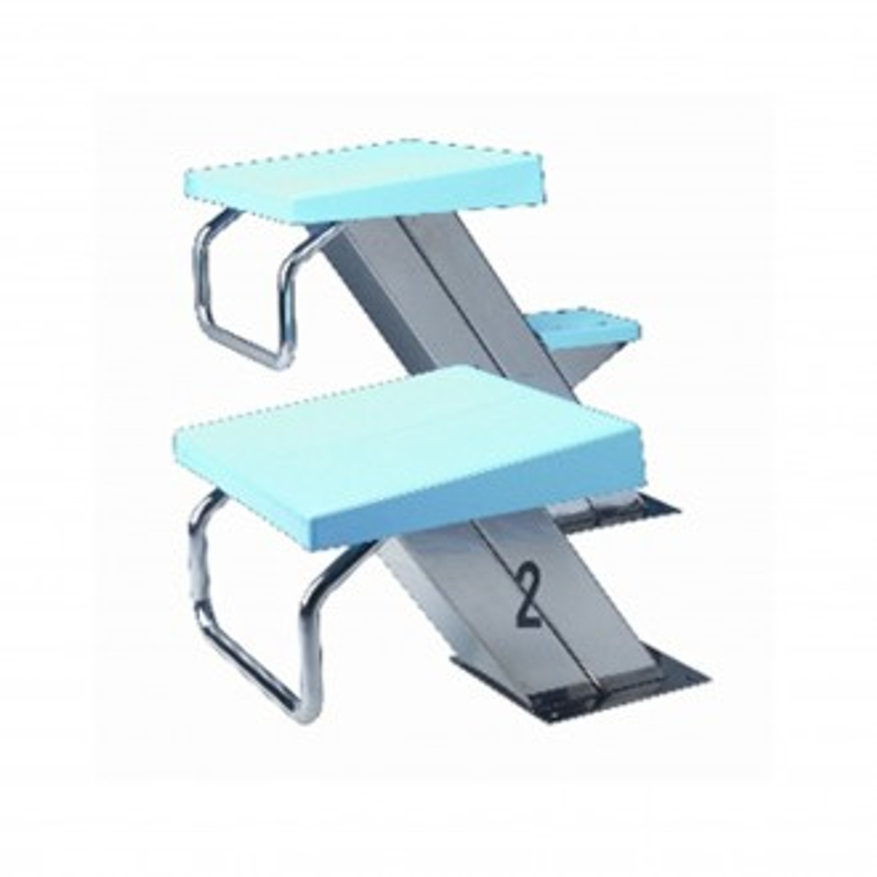 Starting Block Podiums for Competition Swimming Pools