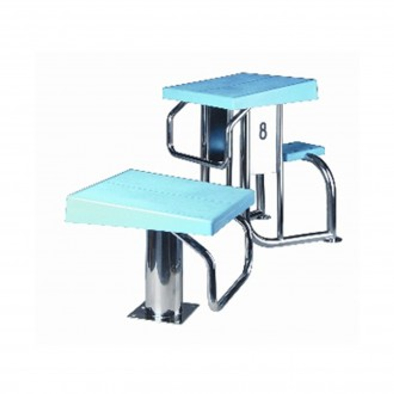 Removable Competition Swimming Pool Starting Block Podiums