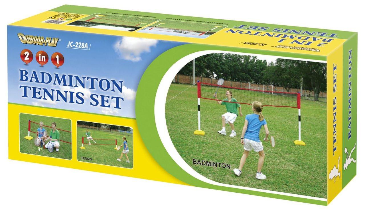 2 in1 Childrens Tennis Badminton Training Set Kids Trainer (JC-228A)