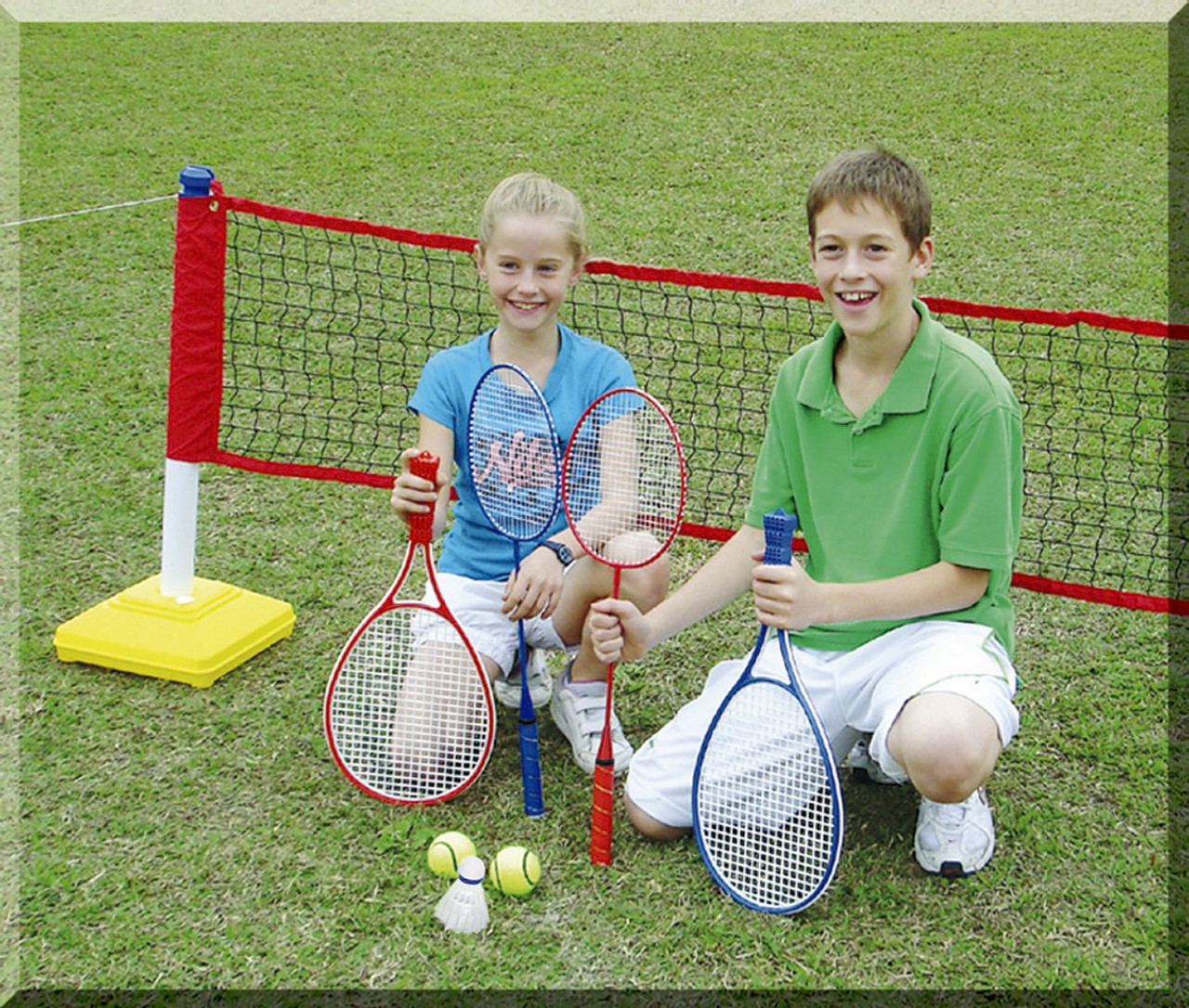 2 in1 Childrens Tennis Badminton Trainer