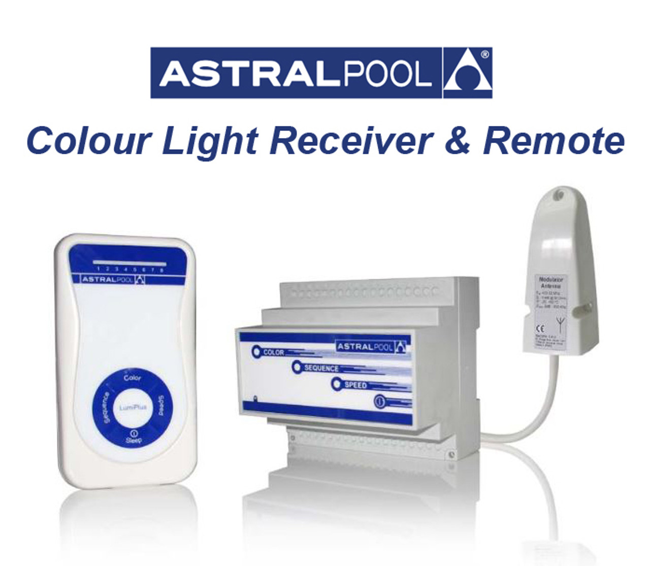 Astral RGB Light Receiver with Antenna