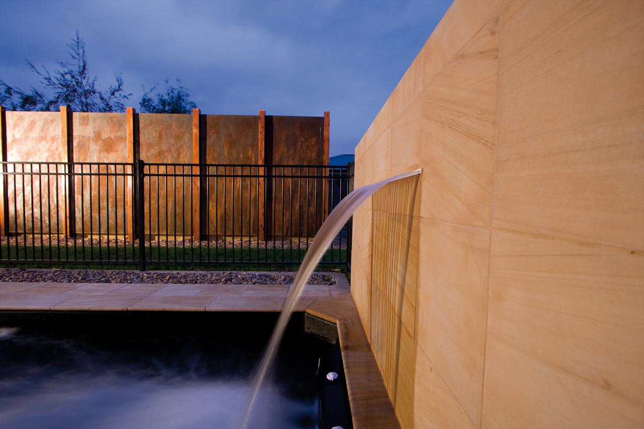 Silkflow Waterfall Swimming Pool Fountain