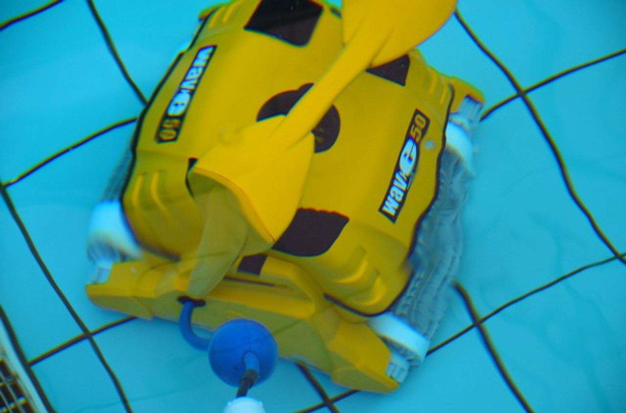 Dolphin Wave 50 automatic heavy duty electronic swimming pool cleaner commercial grade