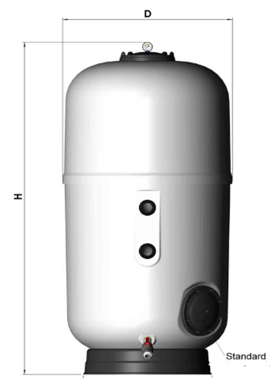Astral Artic Commercial Swimming Pool Laminated Sand Filter