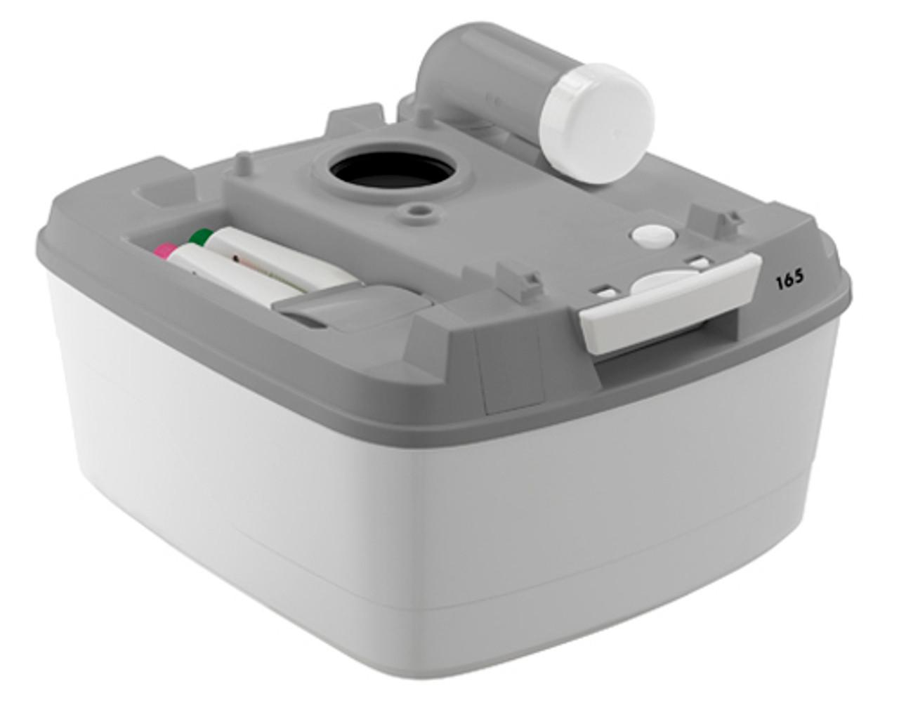 Bottom tank of the chemical Porta Potti camping 165 toilet