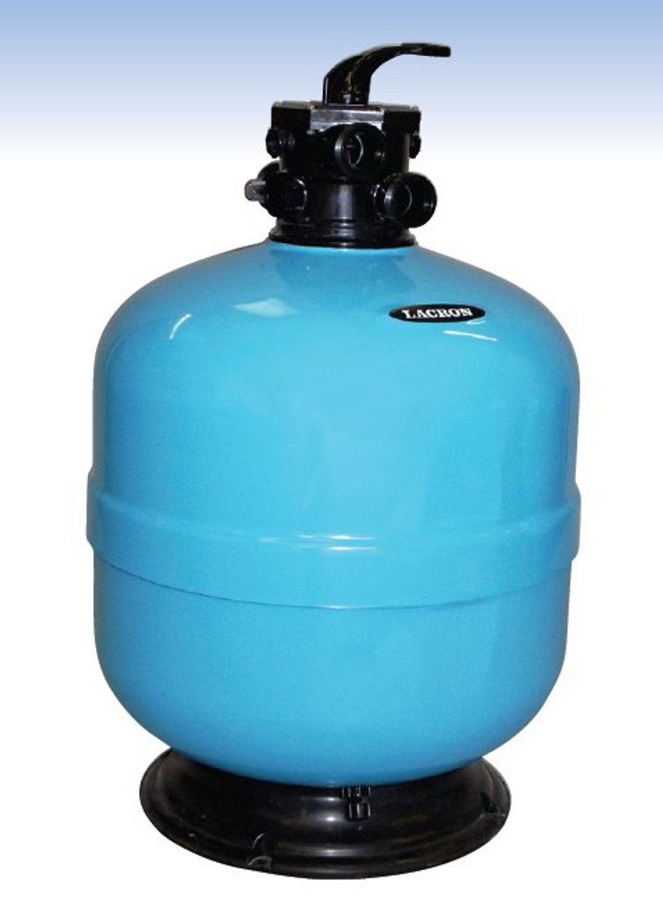 Lacron swimming pool sand filter top mount