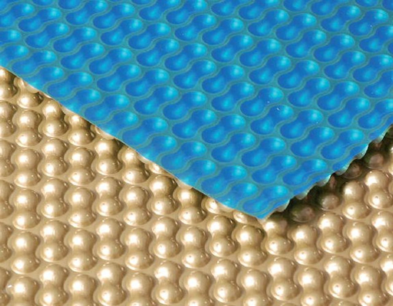 GeoBubble Midas 500 swimming pool solar cover Gold close up
