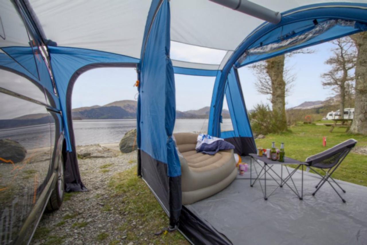 Vango Idris II Inflatable AirBeam Campervan Awning