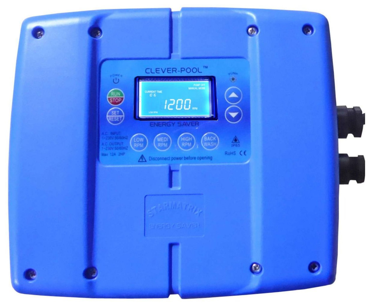 Clever Pool pump inverter for swimming pool pump