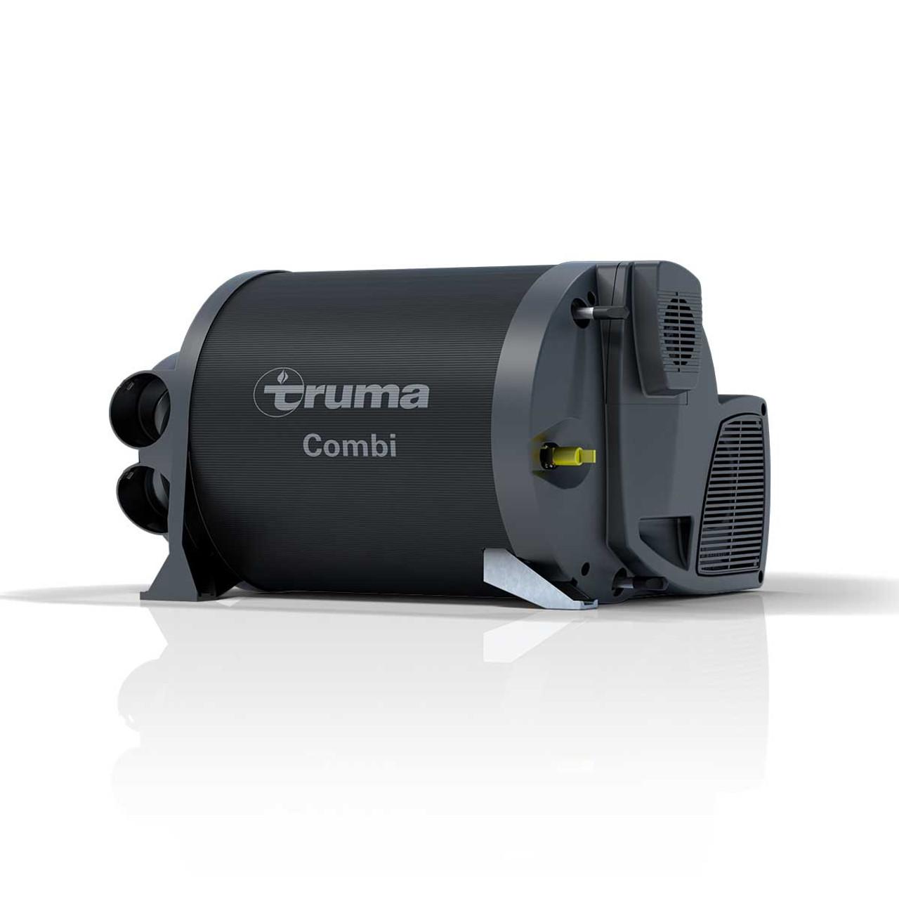Image of the Truma Combi 4E caravan, motorhome, and campervan space heater and water boiler unit.