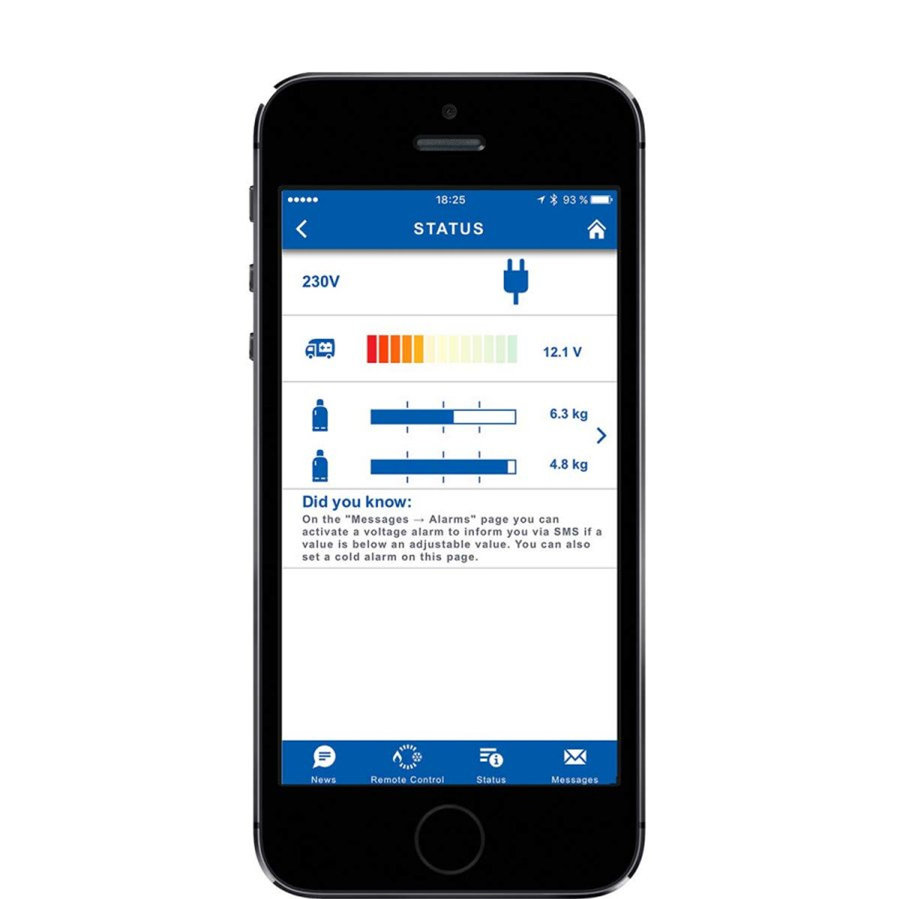 Truma Level Control LPG Gas Checker Monitor for Caravans & Motorhomes
