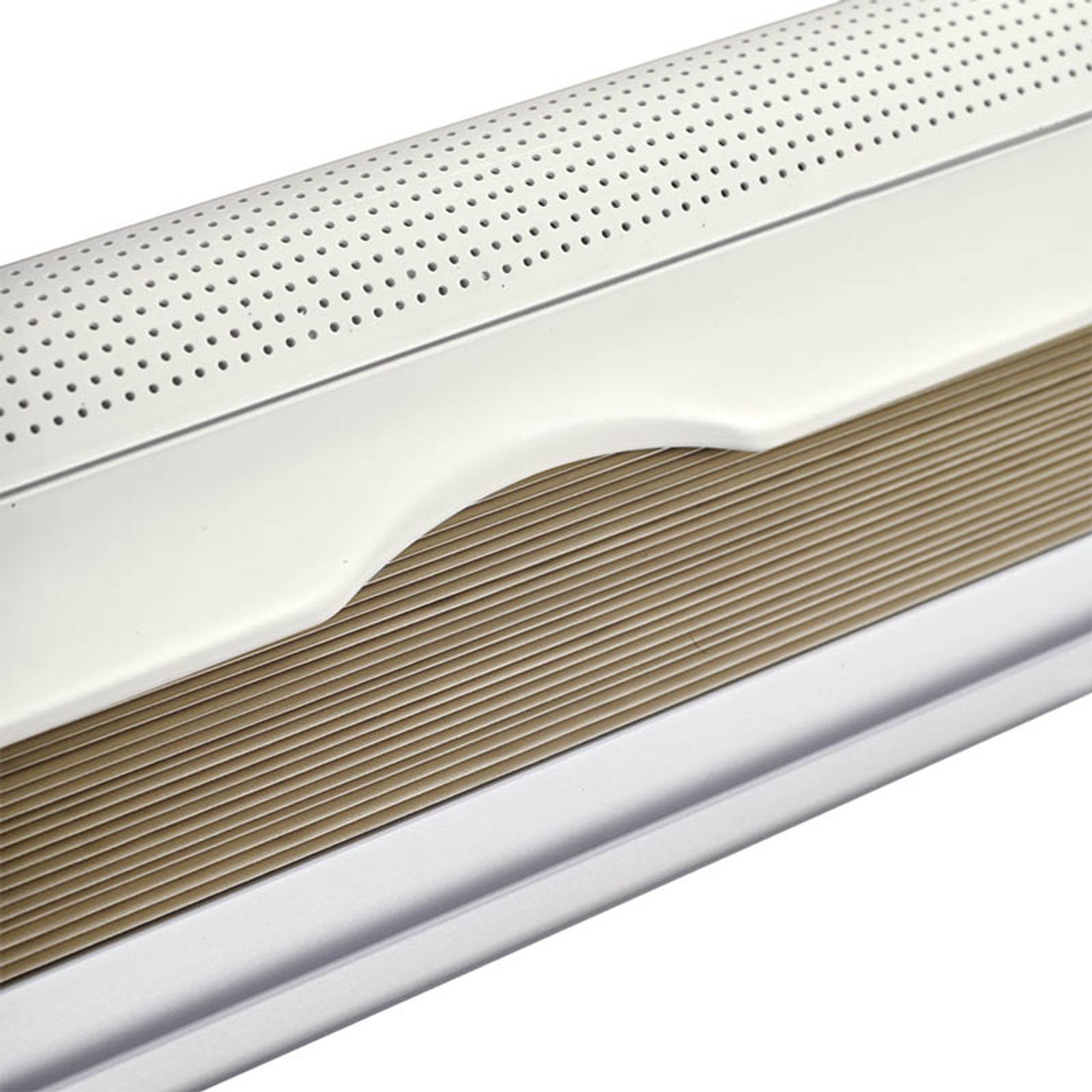 The Dometic S7P pleated blind for use in your caravan campervan or motorhome