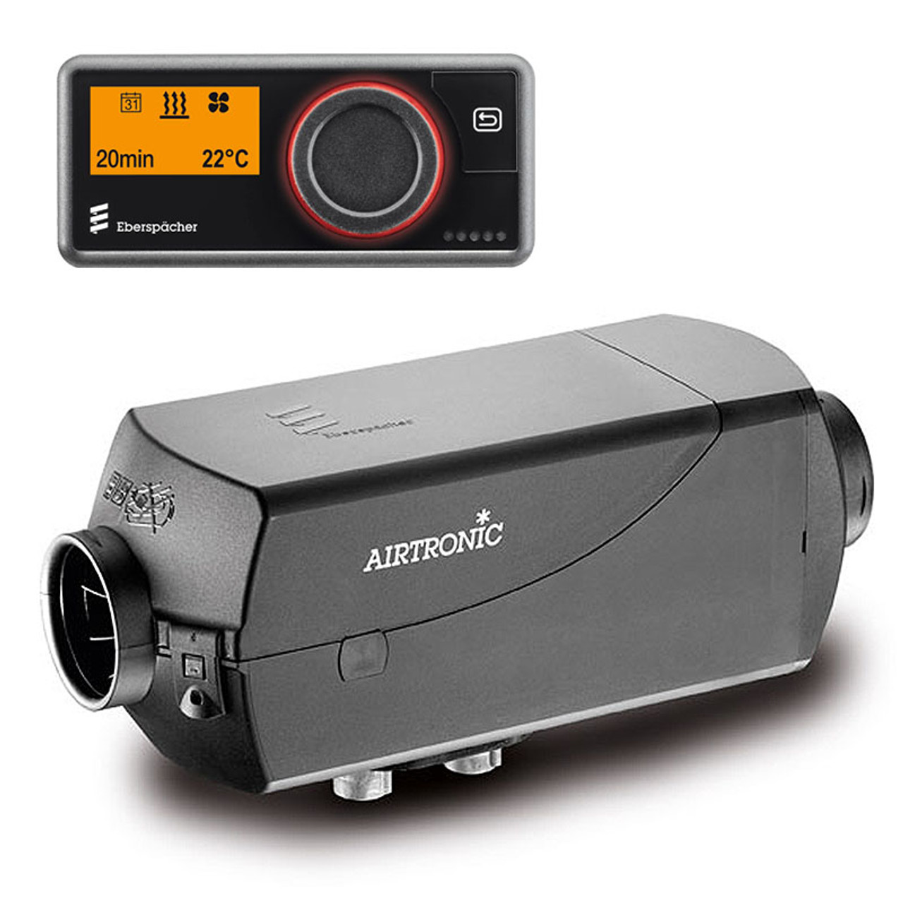 This Airtronic D2L kit from Eberspacher is suitable for internal mounting within your Volkswagen T5 T6 campervan and comes complete with the new EasyStart Pro control panel