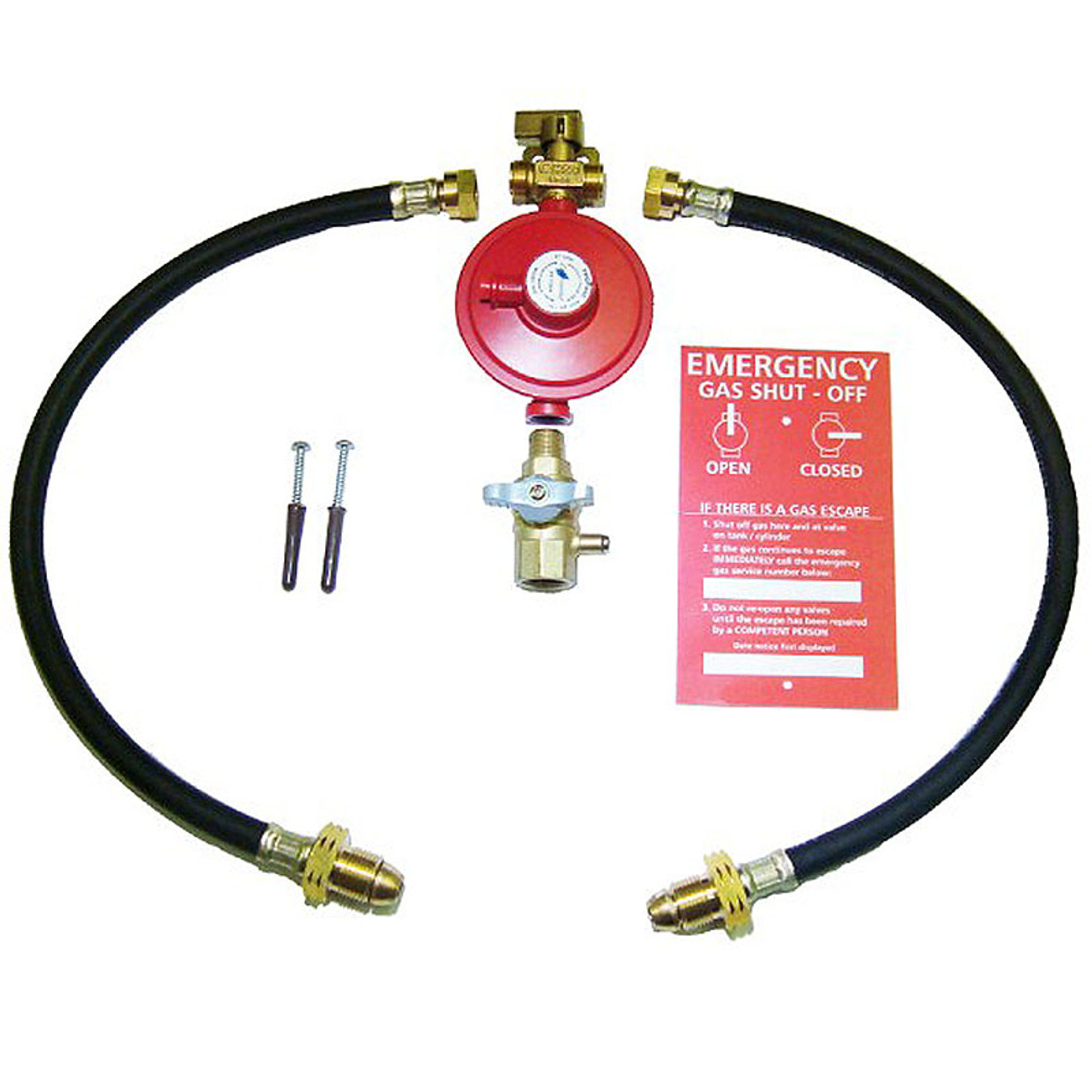 AUTOMATIC 2 BOTTLE CYLINDER CHANGEOVER KIT WITH OPSO OVER PRESSURE LPG LP