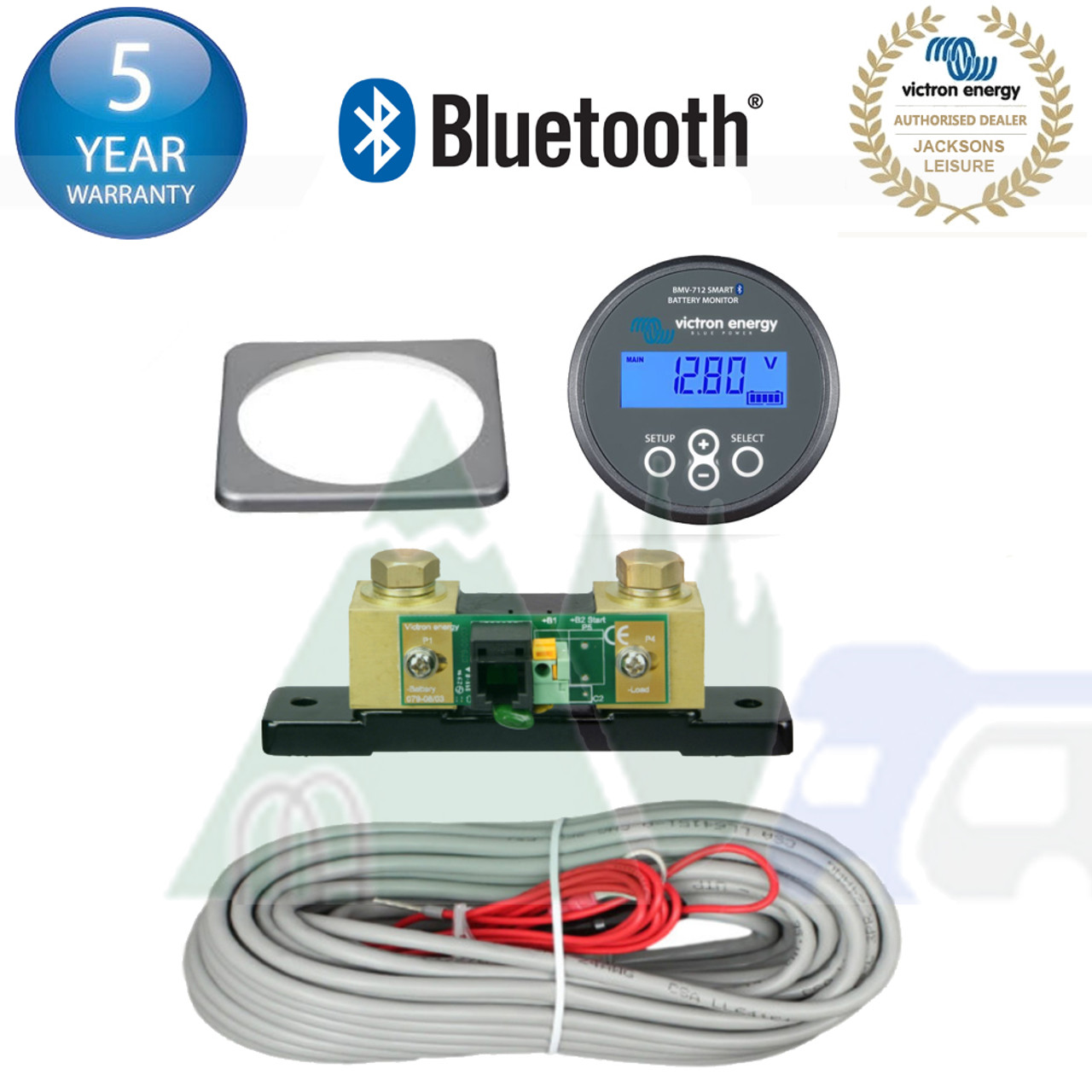Victron Energy 712 Leisure Battery Monitor Kit