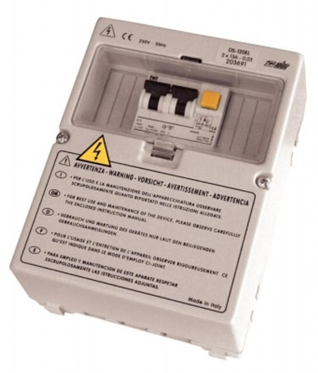 DS300 Campervan Consumer unit for PC210 Kit