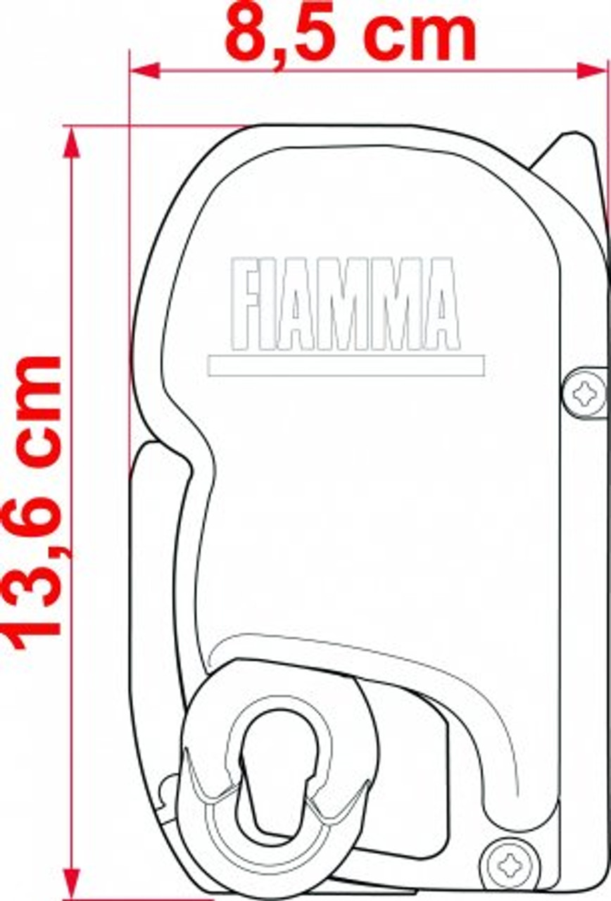 Fiamma F45s  Campervan and Motorhome Awning Case Dimensions