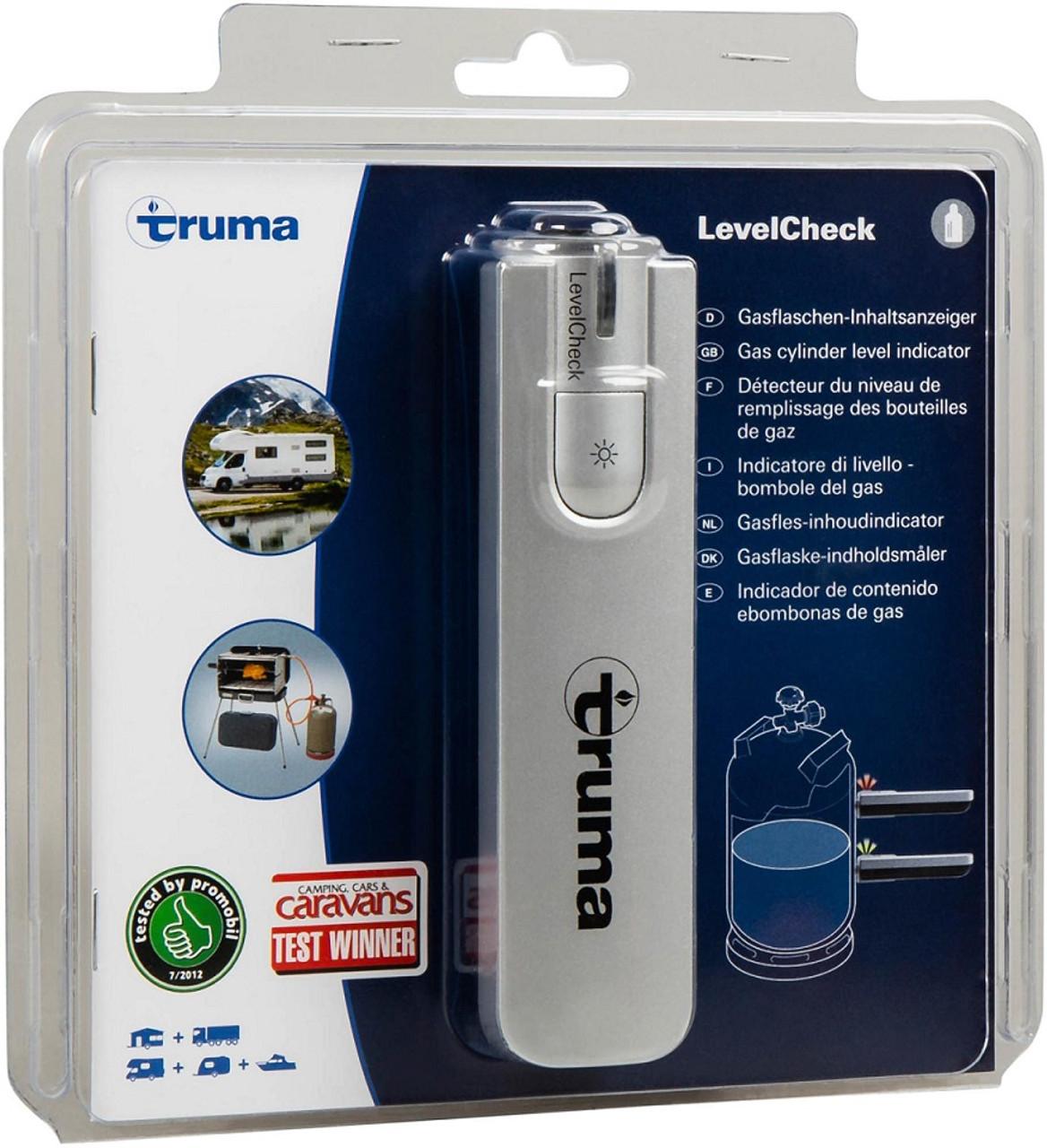 Truma LPG gas level check device.