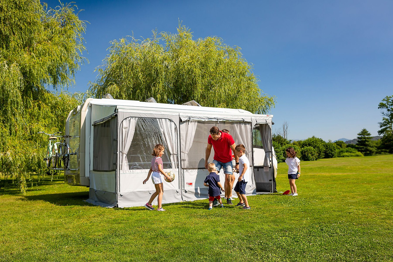Fiamma F45s Privacy Room enclosure ideal for added privacy, security and creating that extra space for larger groups