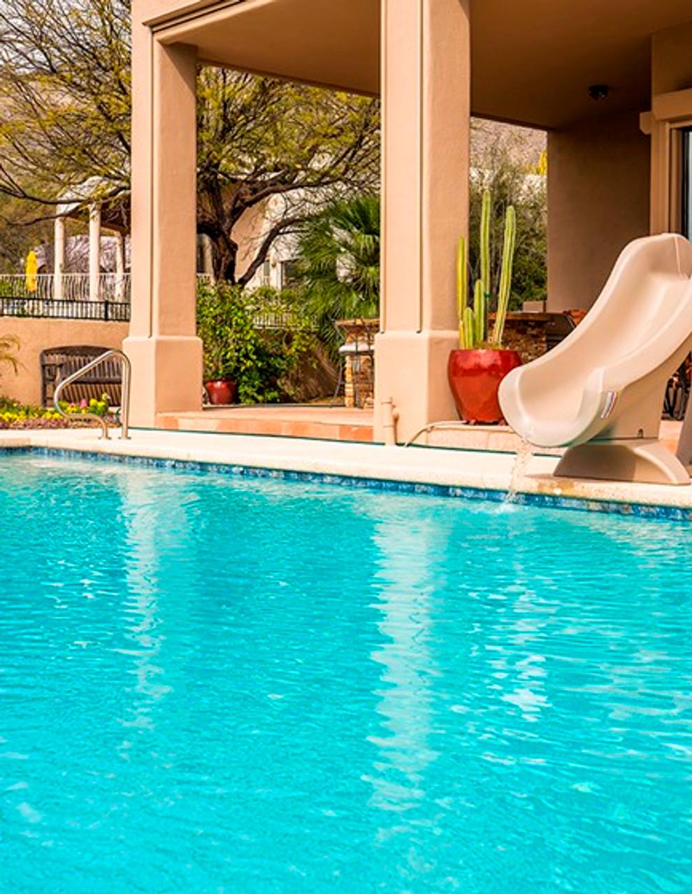 SR Smith SlideAway Portable Residential Swimming Pool Slide