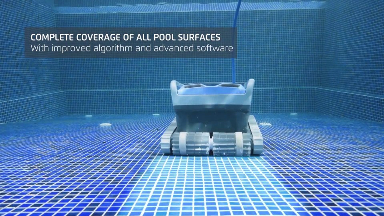 All pool surfaces covered Dolphin M600 Swimming Pool Cleaner Maytronics